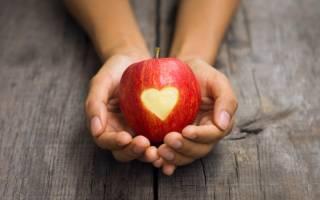 Приворот мужчины с помощью яблока