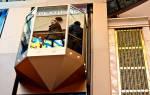 Сонник стеклянный лифт
