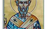Святитель Спиридон Тримифунтский: житие, икона