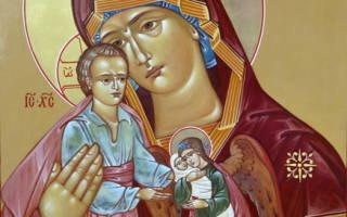 Милосердия двери молитва текст на русском