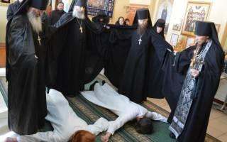 Что означает постриг в монахини