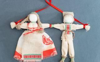 Кукла неразлучники своими руками пошаговая инструкция
