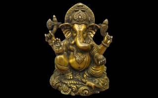 Индийский бог мудрости с головой слона