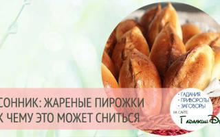 К чему снятся пирожки по соннику Миллера Фрейда Цветкова