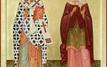 Память святых мучеников Киприана и Иустины