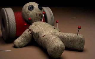 Приворот на восковую куклу