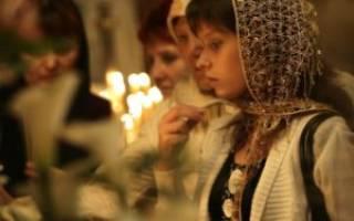Можно ли ходить в церковь во время месячных