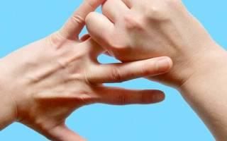 Чешется кончик безымянного пальца на правой руке