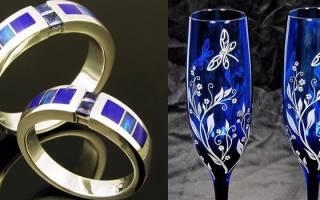 Что подарить на сапфировую или алую свадьбу (45 лет) – подарки и идеи на ideipodarkov