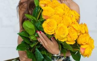 Когда дарят желтые розы что означает