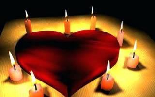 Приворот на одну красную свечу