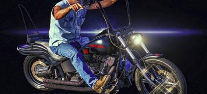 Сон ехать на мотоцикле за рулем