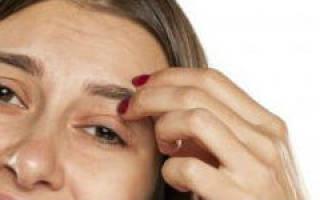 Что означает если чешутся брови