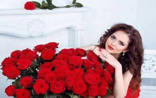 Привороты на красную и белую розу