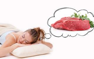 К чему снится много мяса сырого свинины