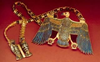 Египетский амулет рисунок