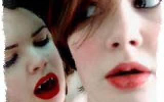 Энергетический вампир. Как определить и распознать вампира.