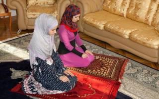 Мусульманские молитвы для женщин