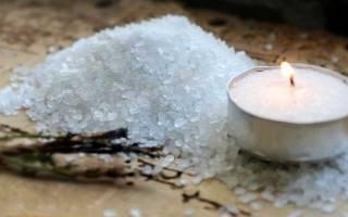 Заговор от порчи на соль читать