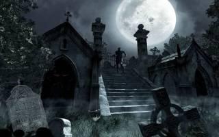 Приворот на нитках кладбище