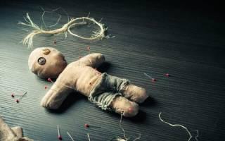 Кукла из церковных свечей