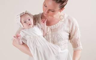 Когда можно крестить новорожденного ребенка