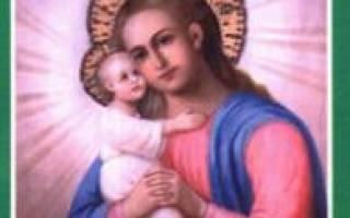 Молитва о детях материнская сильная православная молитва